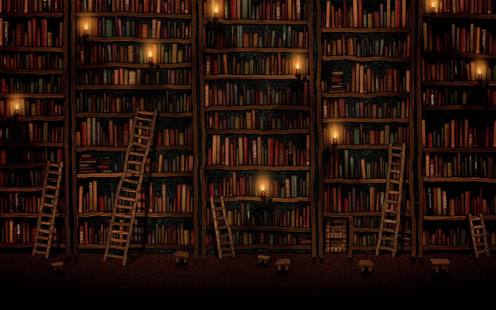 bookshelves_hd_widescreen_wallpapers_1680x1050